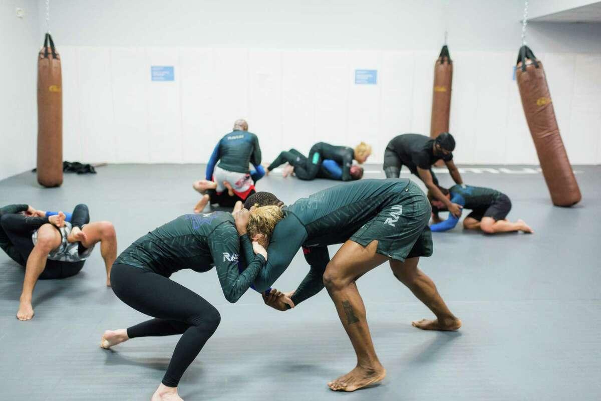 One of the main martial arts that Ravlin Martial Arts & Fitness teaches is Brazilian Jiu Jitsu, a grappling-based martial art.