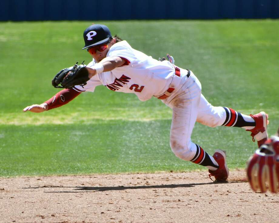 Plainview rolled to an 11-0 win over Amarillo Palo Duro in a District 3-5A baseball game on Saturday at Bulldog Park. Photo: Nathan Giese/Planview Herald