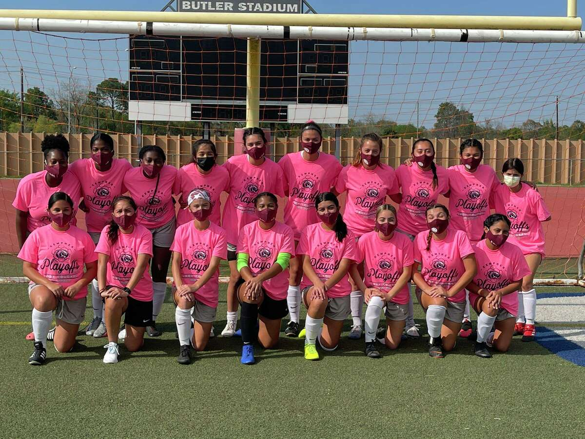 The Kempner girls soccer team defeated Sharpstown 6-1 in the Region III-5A bi-district playoffs March 26 at Butler Stadium.