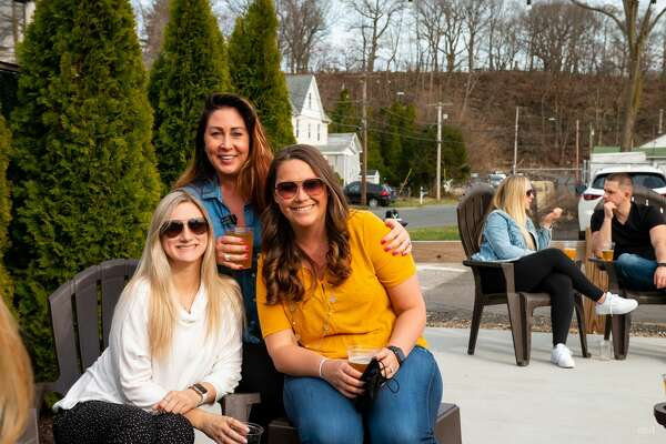 Were you SEEN enjoying the weather at Bad Sons Brewery in Derby on March 27, 2021?
