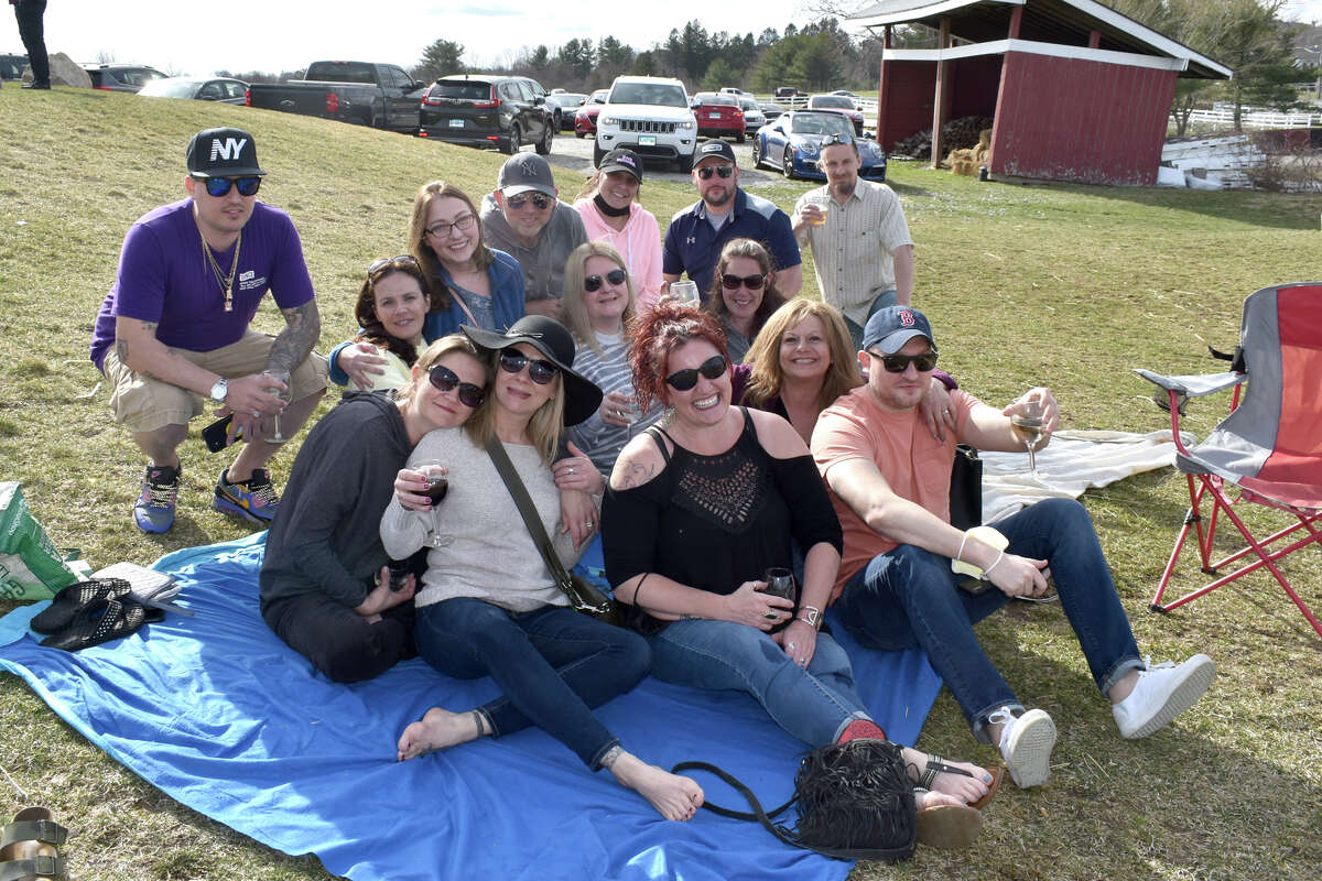 Were you SEEN enjoying the weather at Hawk Ridge Winery on March 27, 2021?