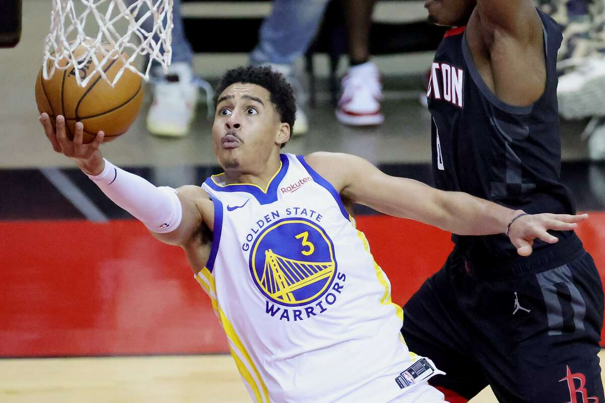 Jordan Poole and the Warriors will host Chicago at 7 p.m. Monday (NBCSBA/95.7).
