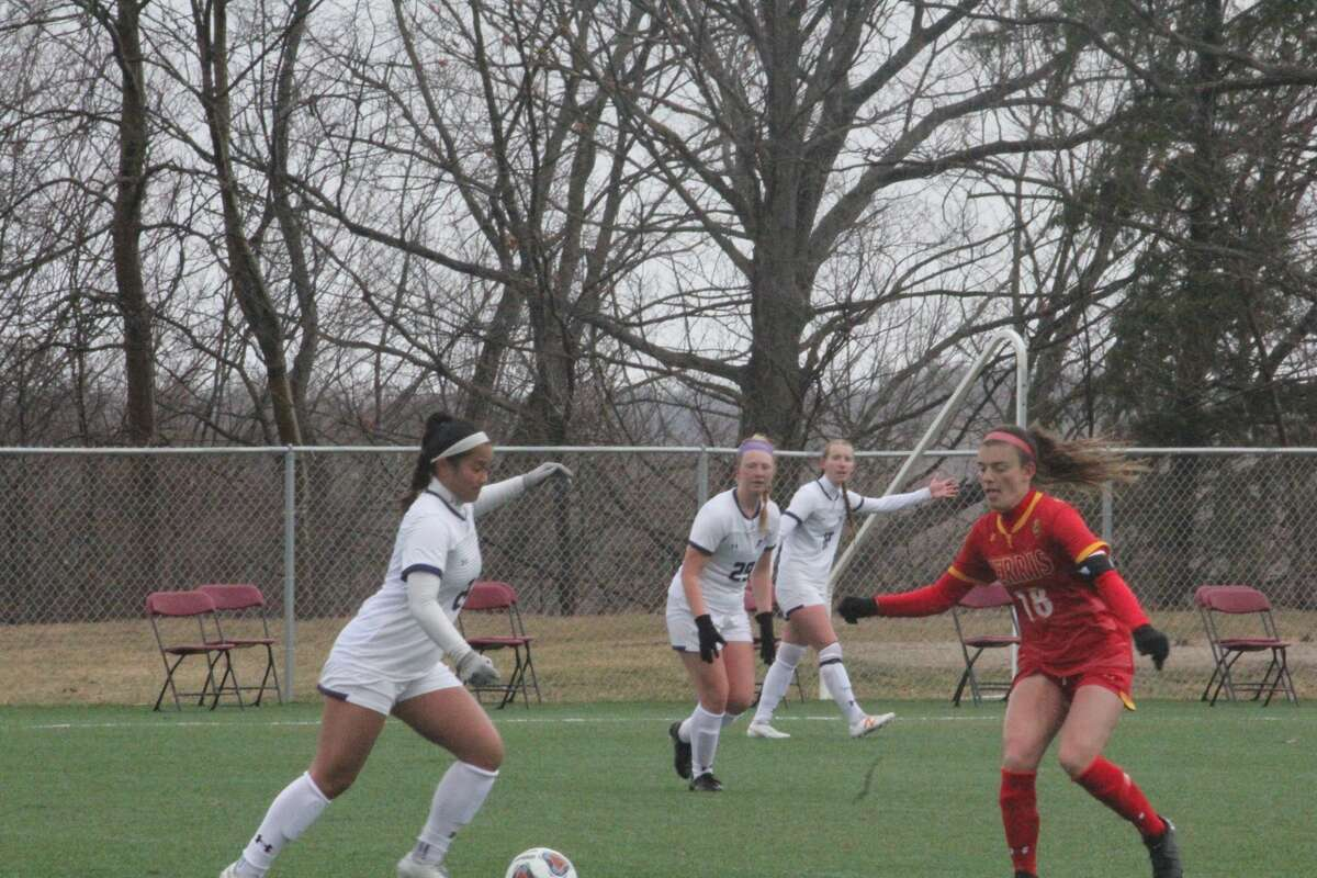 Coach Greg Henson got his 100th career win and Ferris' soccer team is 4-0 with Sunday's 2-1 win over Ashland
