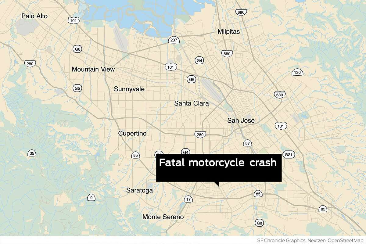 A motorcyclist was killed in a crash in San Jose.