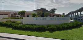 The front of Desert Willow Fine Arts, Science and Technology Magnet Academy in Palmdale, Calif.