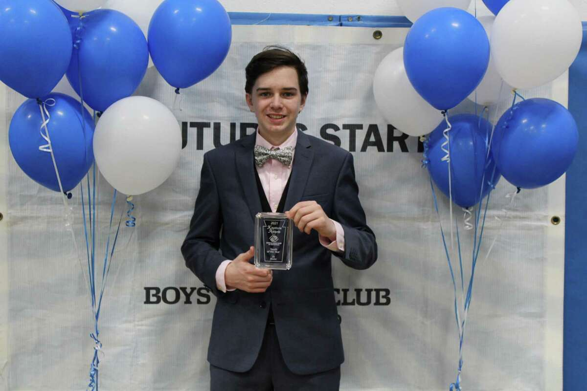 Ridgefield High School senior Eli Keeler was named the club's 2021 Youth of the Year. He will go on to represent Ridgefield at the statewide Youth of the Year competition.