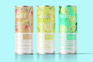 A hybrid beverage that is part energy drink, part seltzer: The product, Seltz, is scheduled to launch this summer in New Haven.