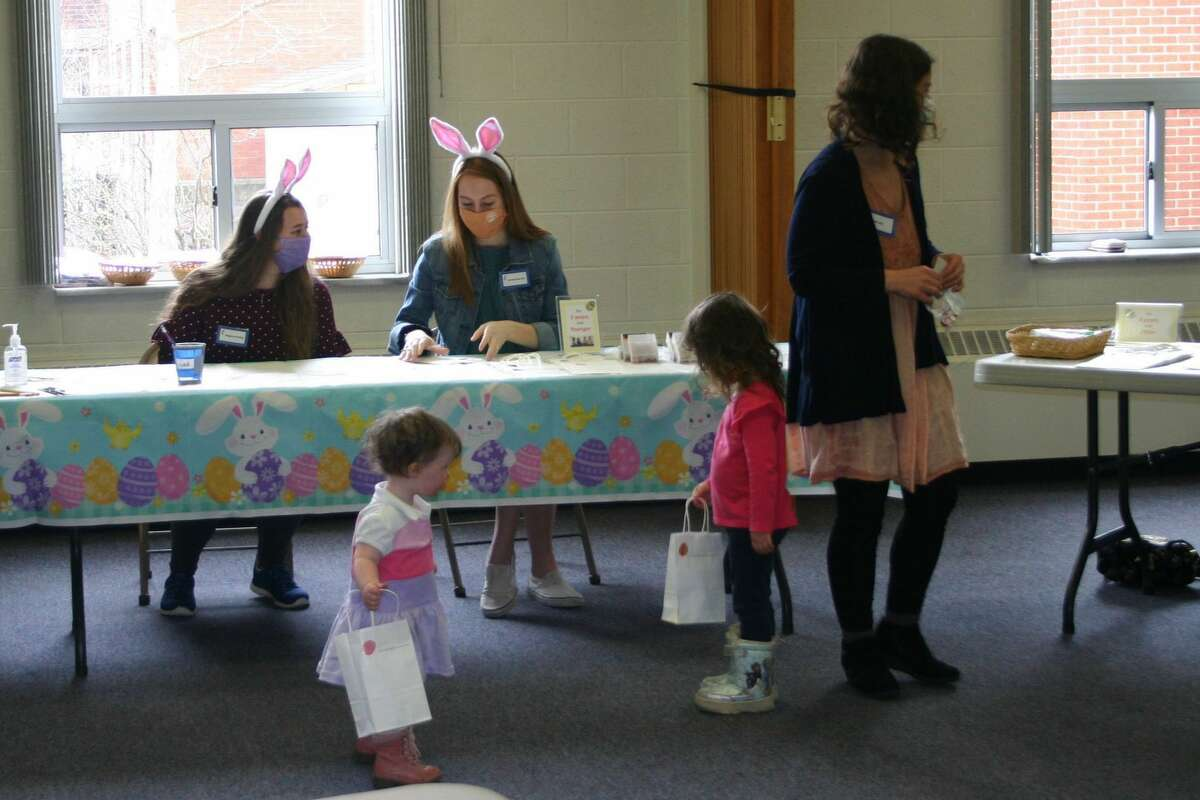 In celebration of the upcoming Easter holiday, children participated in an Easter egg hunt at the First United Methodist Church in Big Rapids on Sunday, March 28.