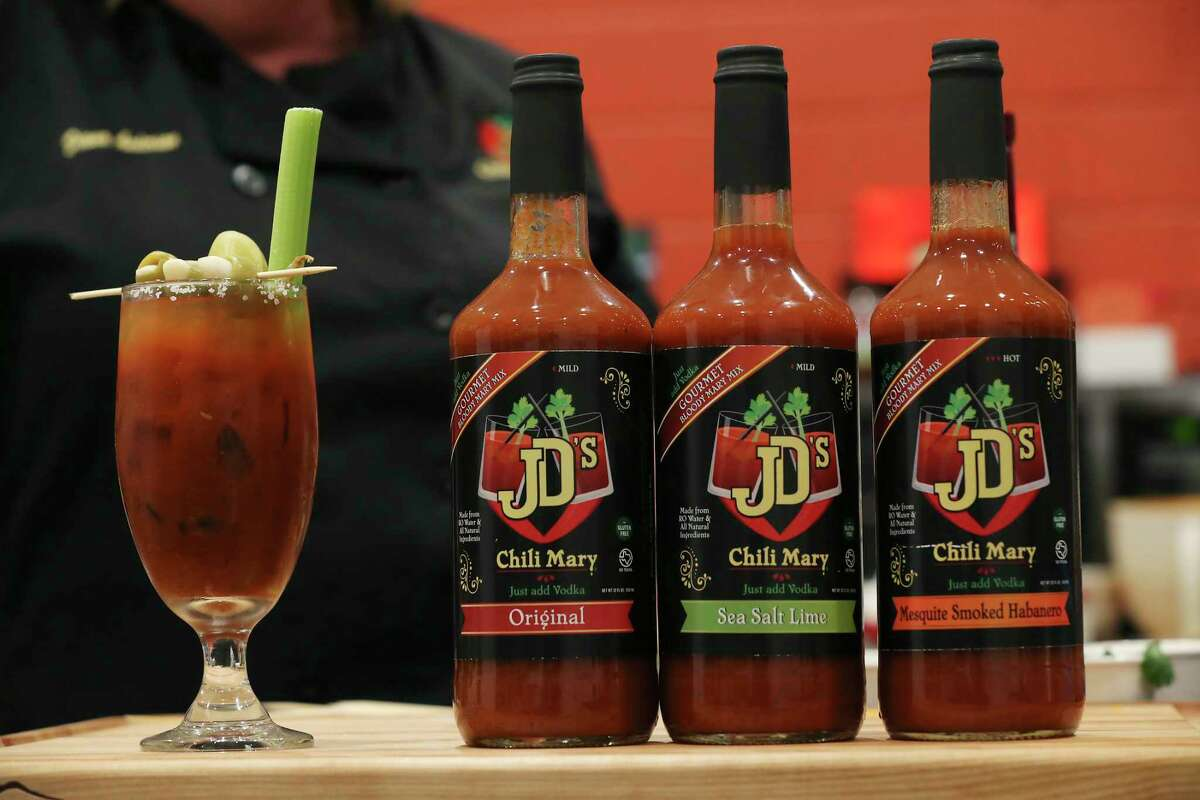 JD's Chili Parlor now sells Chili Mary mixes on display in the company's kitchen in the Local Sprout Food Hub.