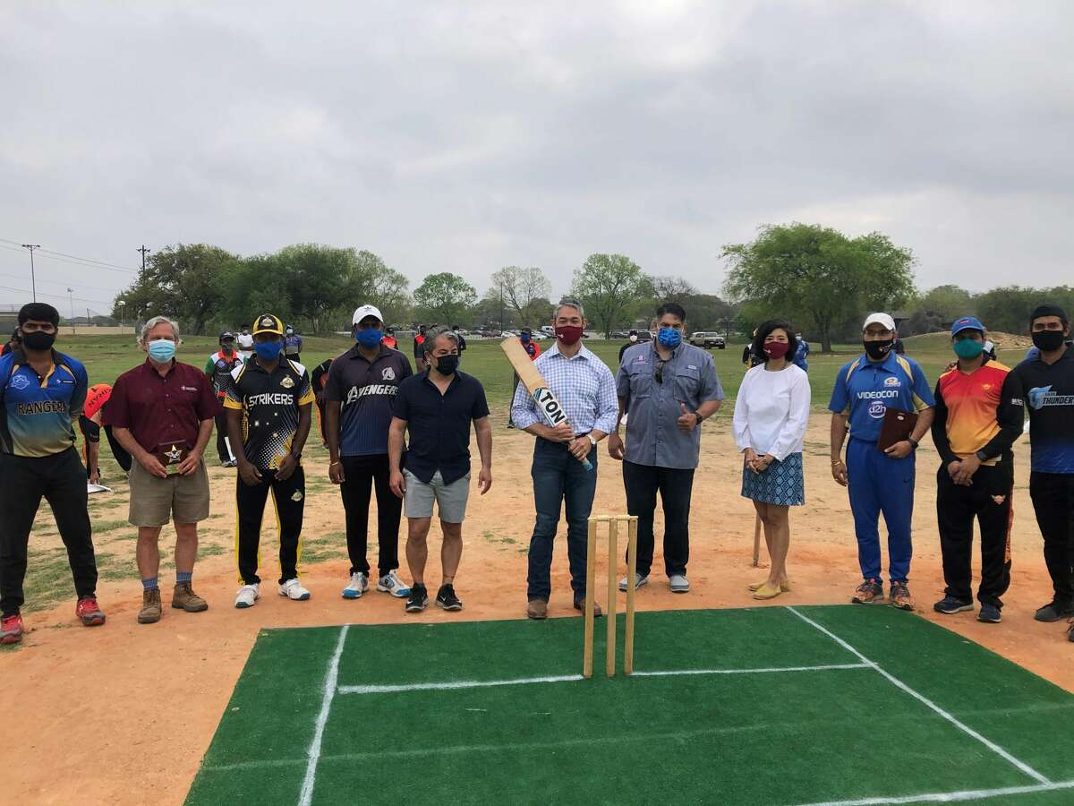 On Saturday, San Antonio leaders opened up the city's second-ever cricket field at O.P. Schnabel Park, according to District 8 Councilman Manny Pelaez Instagram. The first field opened in December at Monterrey Park on the city's West Side, Pelaez's office told MySA.com.