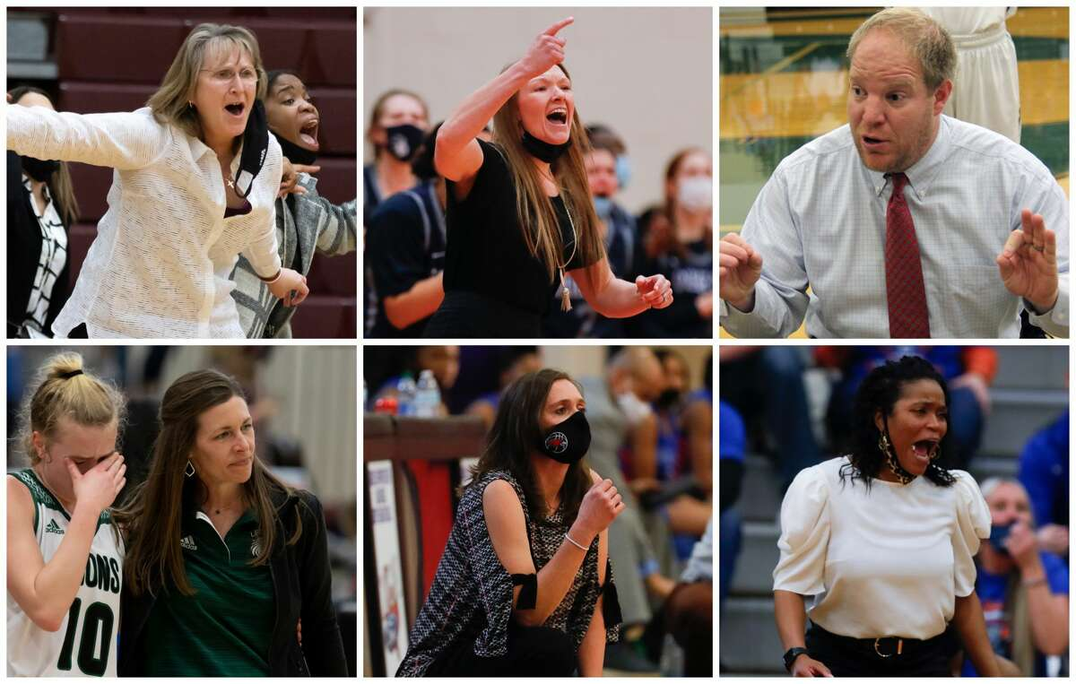 Erika Ritter, Shayna Brown, B.J. Feuerhelm, Audra May, Deidre Vasquez and Shiakiea Carter are The Courier's nominees for Coach of the Year.
