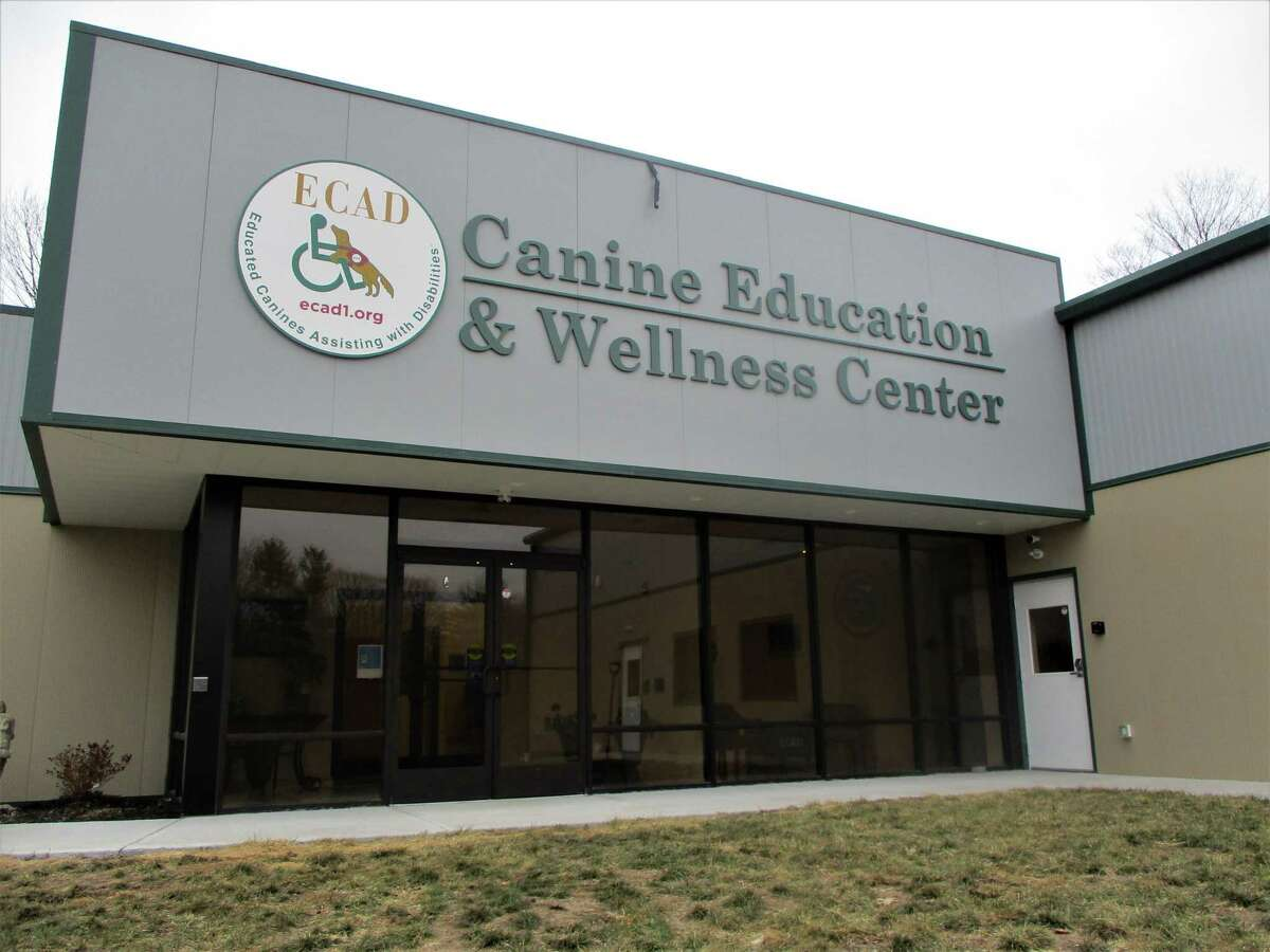 The Canine Education & Wellness Center on the ECAD property on Newfield Road, Winchester.