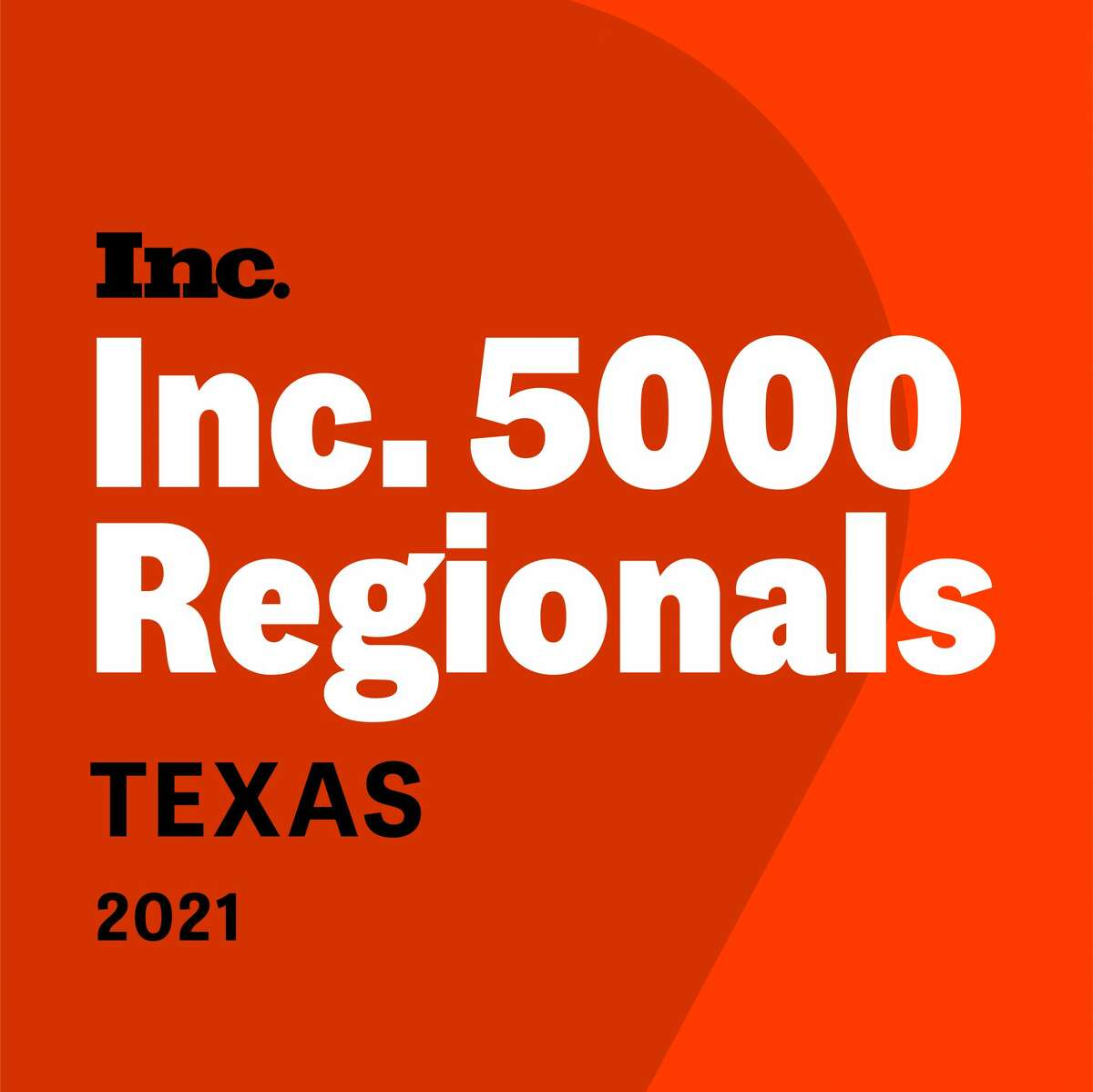 The Inc. 5000 Regionals for 2021 lists the 250 fastest-growing businesses in Texas.