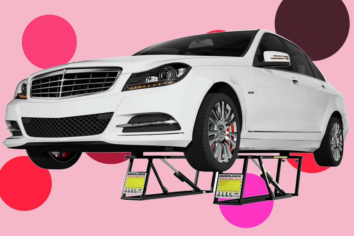 BL5000 SLX Portable Car Lift for $1,150 at Home Depot
