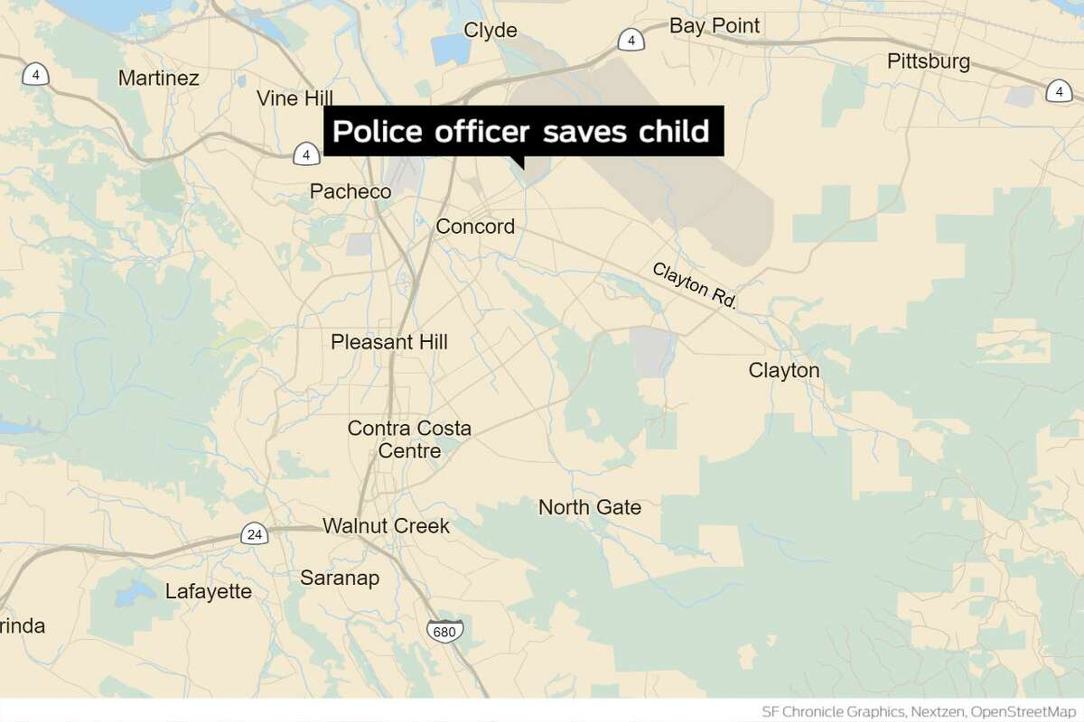A Concord police officer on Friday resuscitated a 2-year-old child who had ingested unknown amounts of fentanyl, officials said. Officer Aaron Khamosh was on patrol when he was flagged down by a frantic driver on Salvio Street Friday night, police said. Khamosh ran toward the vehicle and found an unresponsive child in the back seat.