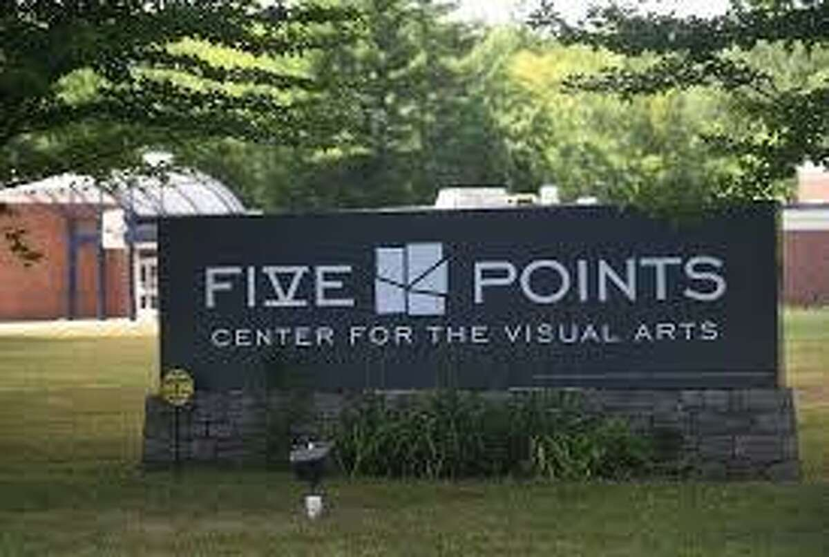 Five Points Center For The Visual Arts on University Drive in Torrington will welcome guests to its grand opening celebration Saturday, Oct. 16, 2021.