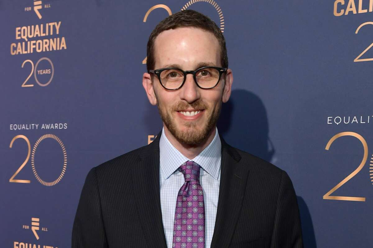 Scott Wiener attends Equality California's Special 20th Anniversary Los Angeles Equality Awards at the JW Marriott Los Angeles at L.A. LIVE on Sept. 28, 2019, in Los Angeles.