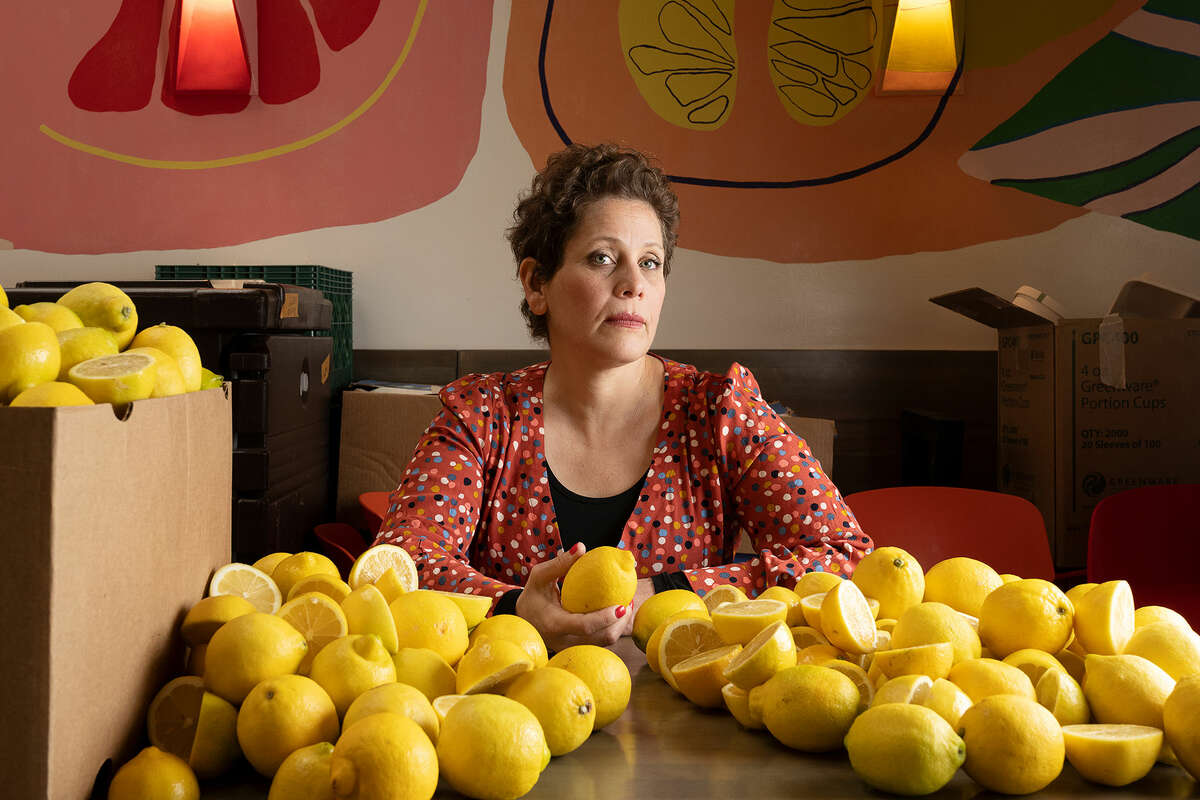 Mica Talmor, chef and owner of Pomella in Oakland.