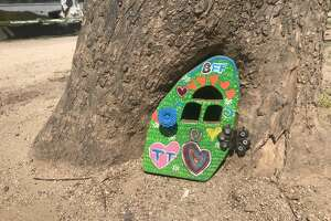 A new fairy door was installed in Golden Gate Park after one went missing earlier this month.