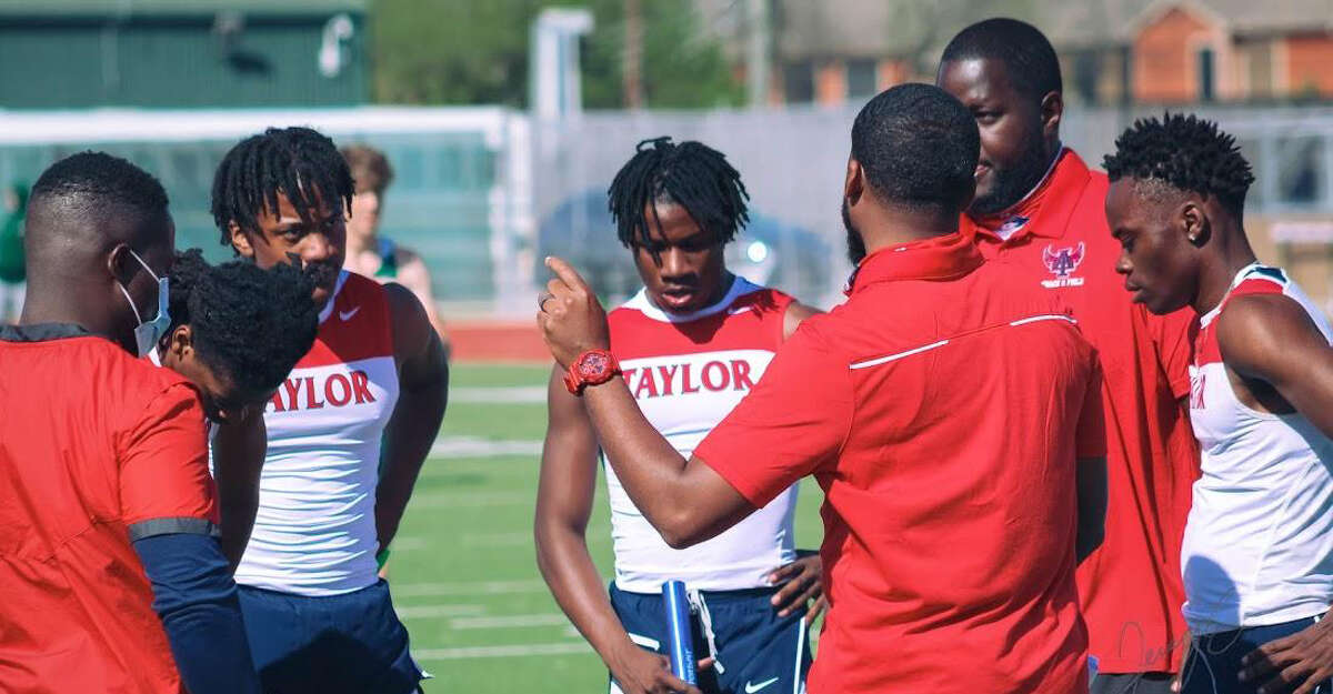 Tyler King, a member of Alief Taylor's 800-meter relay team, is the boys athlete of the week.