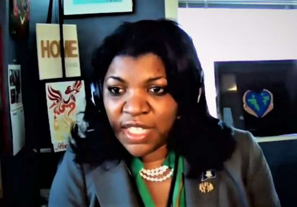 Vannessa Dorantes, commissioner of the state Department of Children and Families