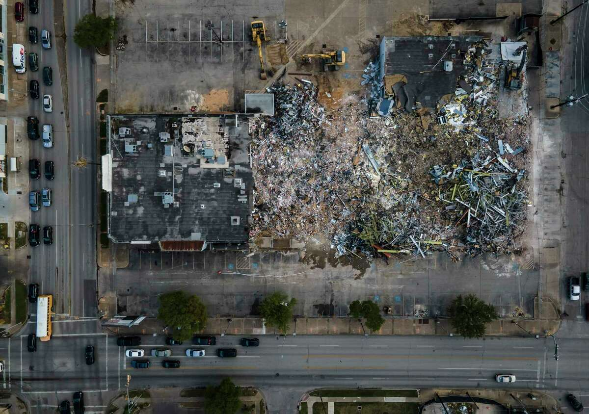 Curb Coalition will host a pop-up market and events on the lot previously occupied by a shopping center anchored by Half Price Books. Skanska USA Commercial tore down the center at Westheimer and Montrose Boulevard in March and is planning a mixed-use development on the site.