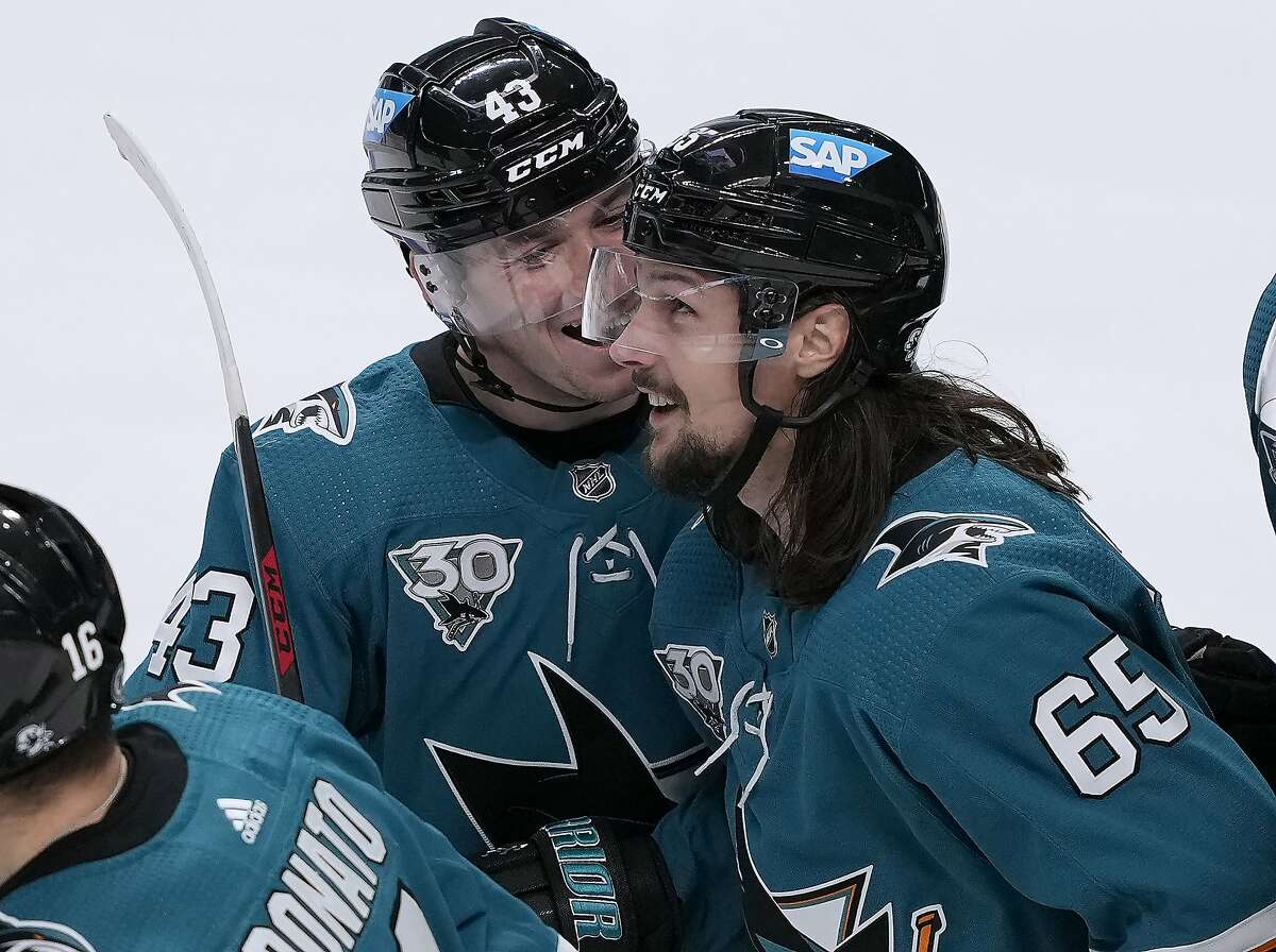 Erik Karlsson and the Sharks host the Wild at 7:30 p.m. Wednesday (NBCSCA).