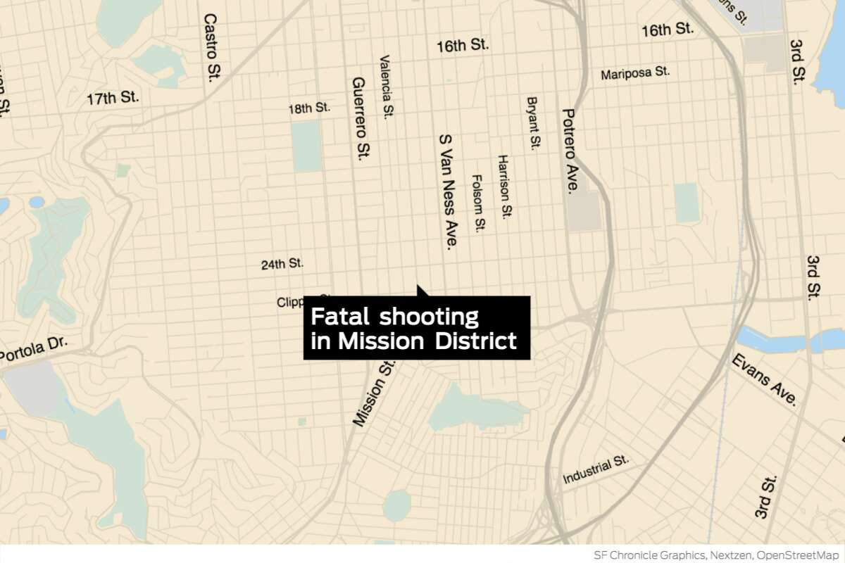 Police said a person died after being shot near 24th and Mission streets at around 9 p.m.