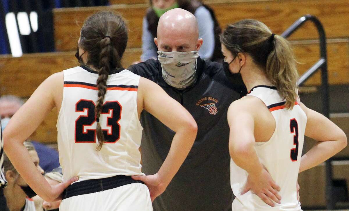 The Hemlock Huskies ended the storybook season of the 2020-2021 Harbor Beach girls basketball team on Monday evening, beating the Pirates, 58-44, in the regional semifinals at Bad Axe High School.