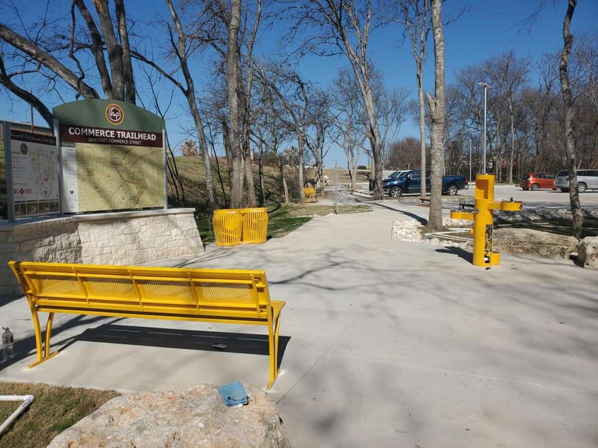 New trailhead adds to Salado Creek Greenway.