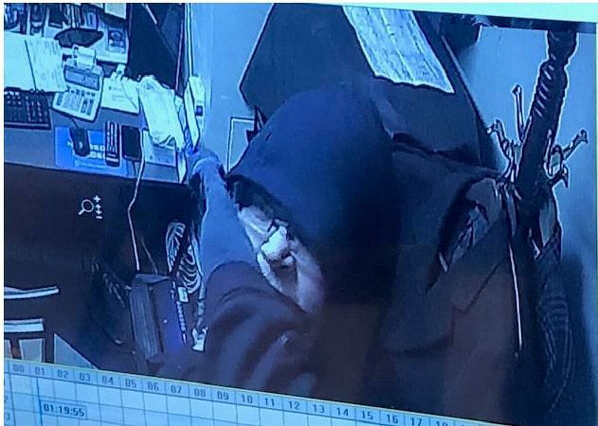 Police say the man pictured is behind thefts at four different stores at the Stamford Mall.