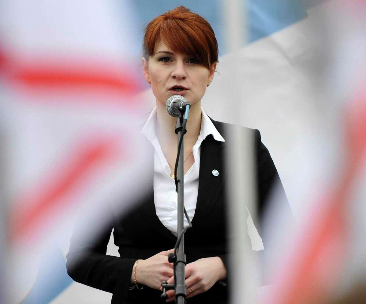 Maria Butina, shown here in 2013 in Moscow.