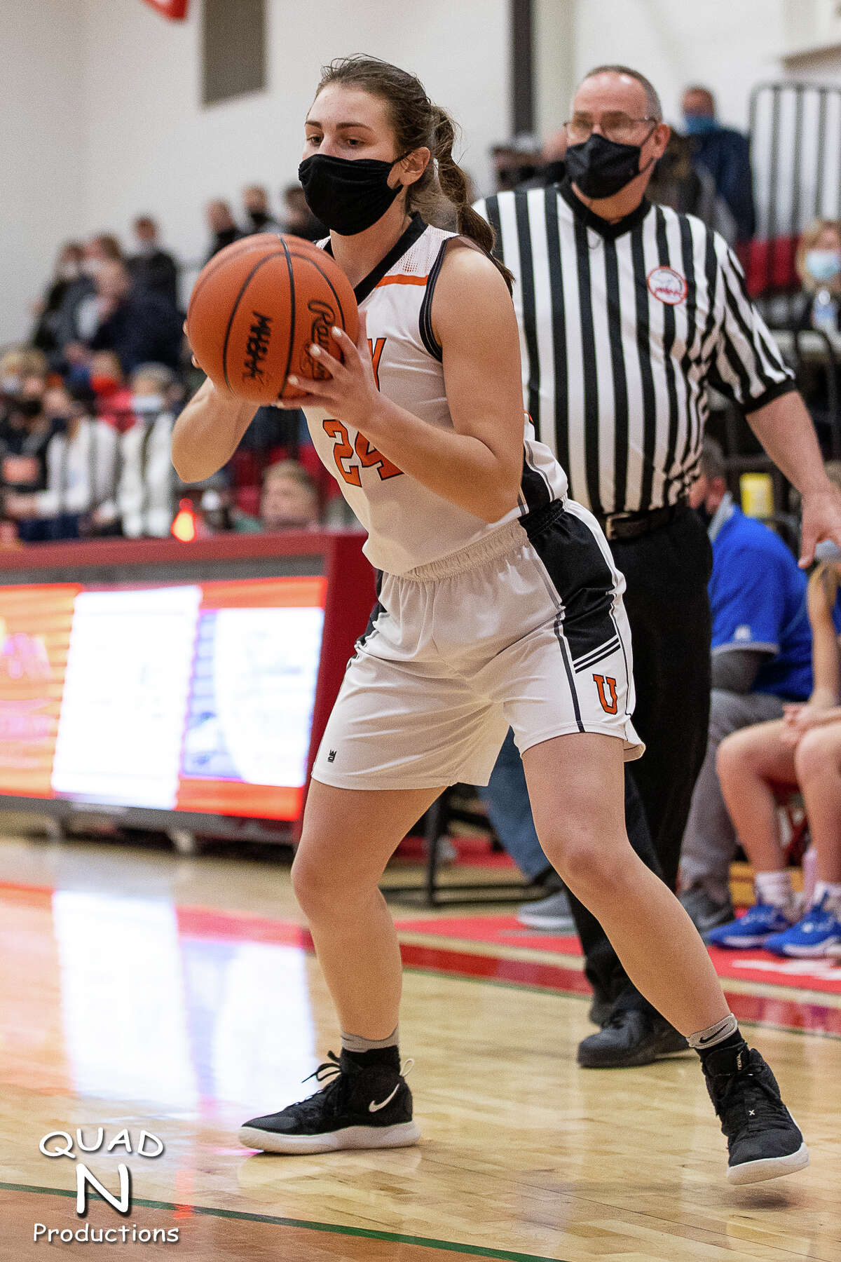 The Ubly girls basketball team's quest for a state championship ended with a loss to Saginaw Nouvel in the regional semifinals at Mount Pleasant Sacred Heart on Monday evening.