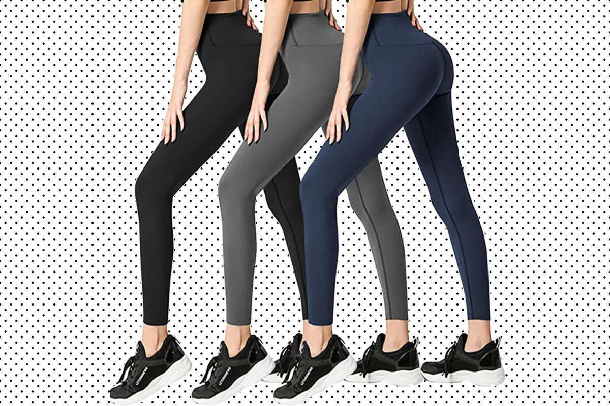 FULLSOFT 3 Pack Womens Leggings, $23.98