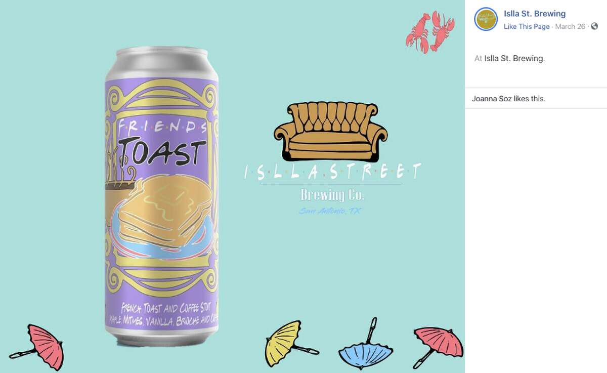 The can is even designed to look like Monica's apartment door.