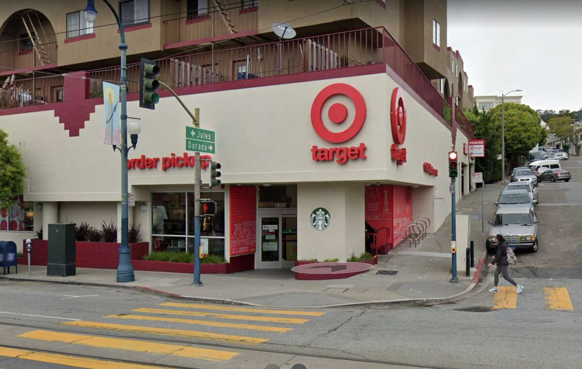 A Target store on Ocean Avenue in San Francisco is closing.