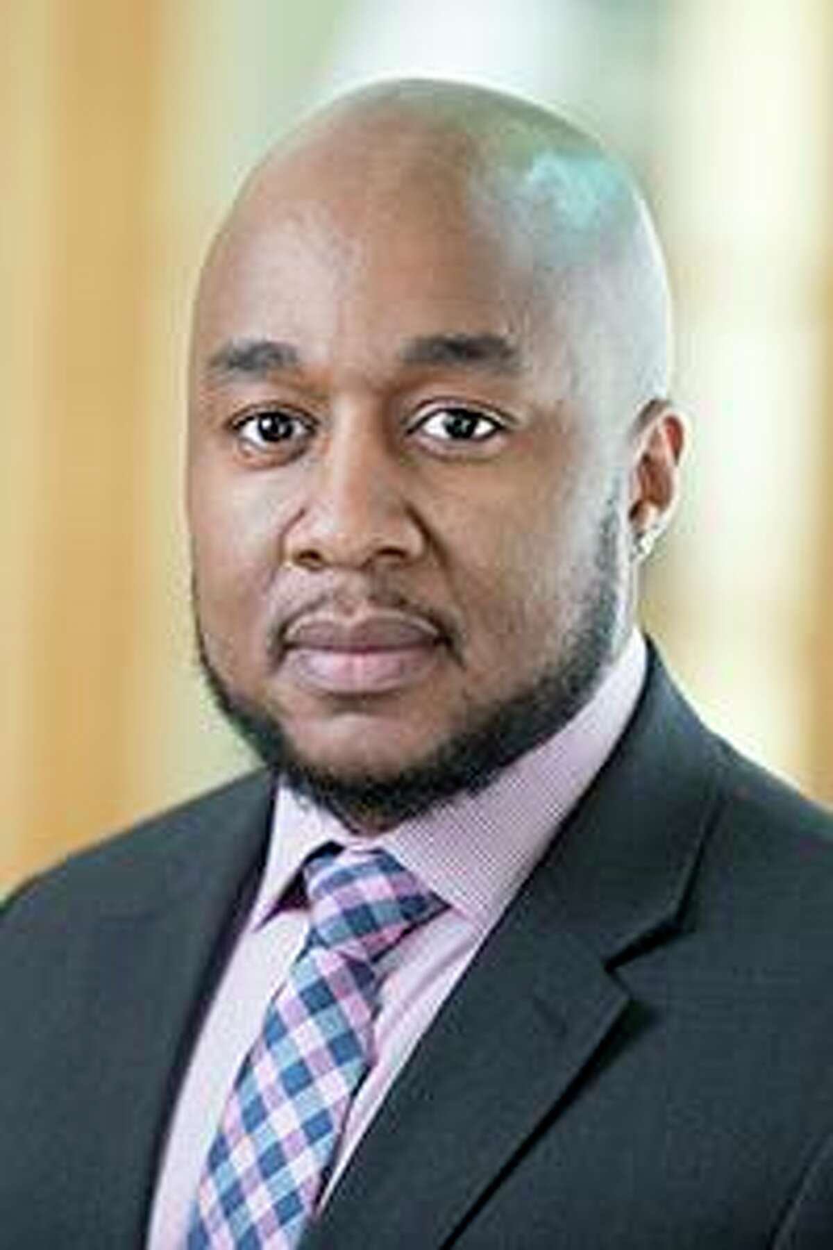 Don C. Sawyer III, Quinnipiac's University's chief diversity officer and vice president of equity and inclusion