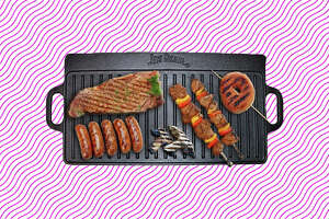 Jim Beam Double-Sided Cast Iron Griddle  for $19.99 at Woot!