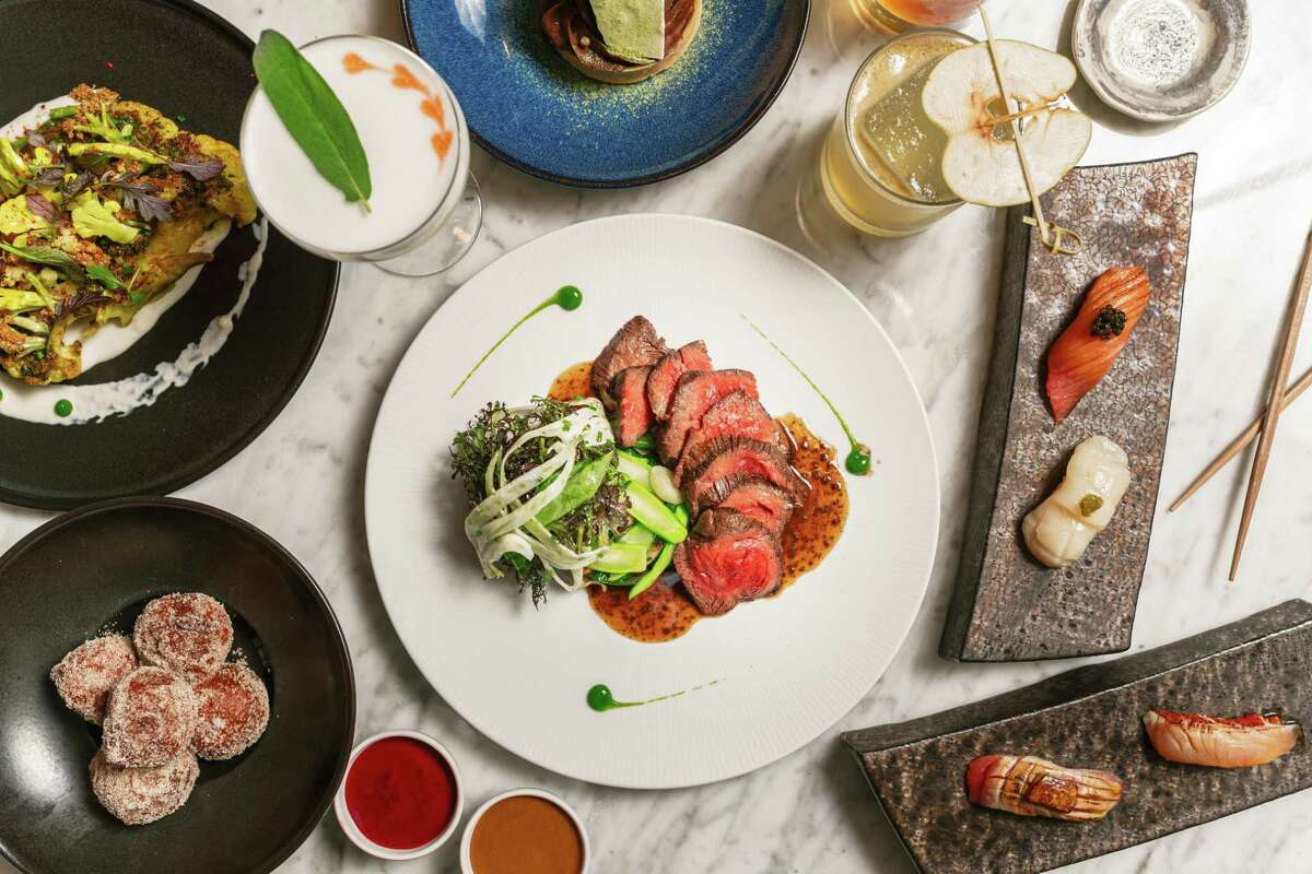 Moon in Greenwich offers a menu featuring flavors from Japanese, Chinese and Thai culture with an American twist.