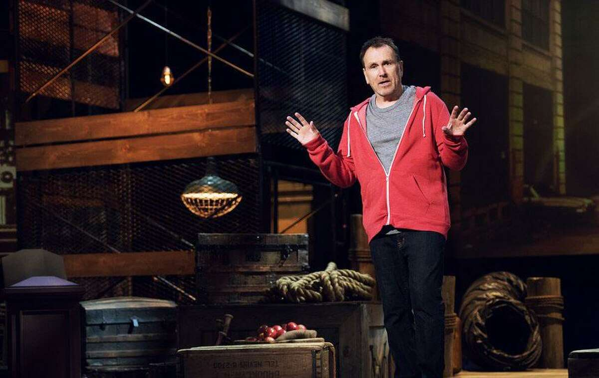 Colin Quinn will perform at the Stress Factory in Bridgeport April 8-9.