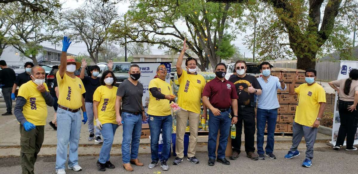 Toward the end of a food drive, Sewa International invited volunteers and officials to take part in traditional Holi festivities, the Hindu festival of colors which celebrates the triumph of good over evil and marks the beginning of spring.