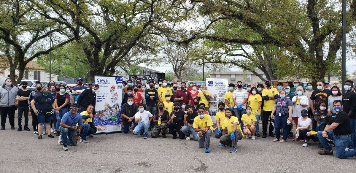 The Office of Fort Bend County Judge KP George, in partnership with Sewa International USA, Topo Chico Inc., the Fort Bend County Office of Emergency Management and the Fort Bend County Sheriff's Office hosted two food distribution drives on Saturday in Rosenberg and Needville.