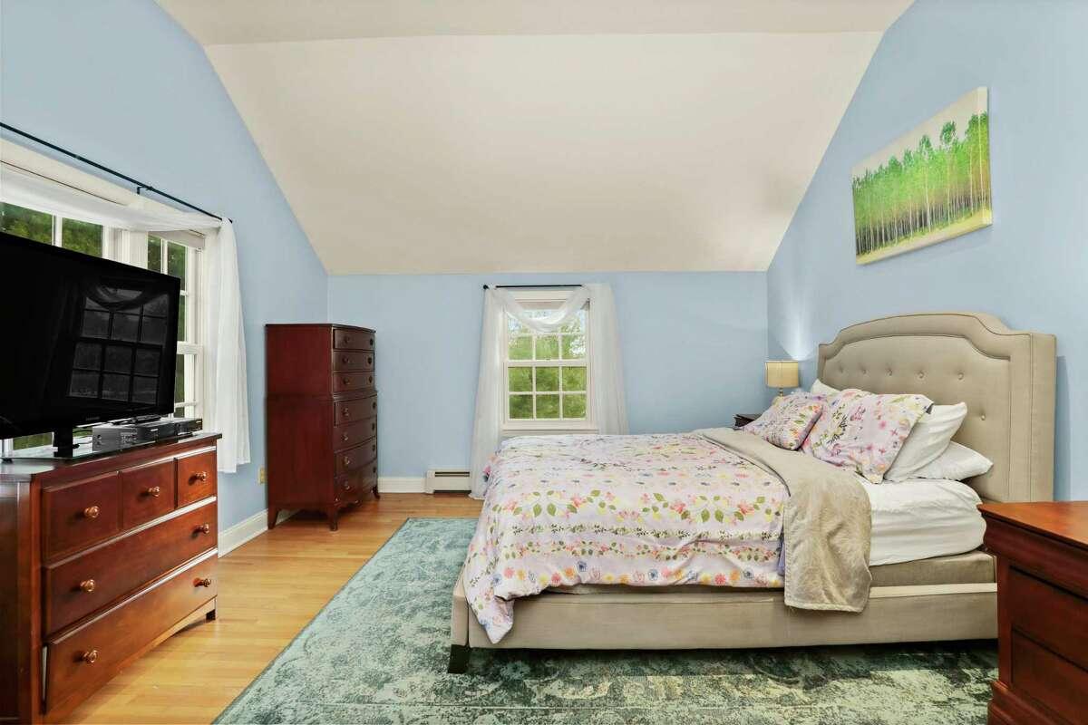 Master bedroom suite at 26 Flat Rock Road, Easton.