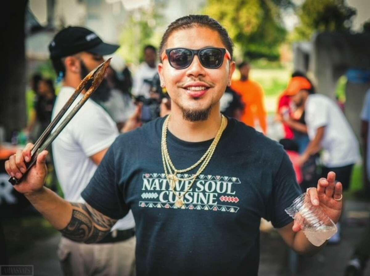 Chef Jeremy Thunderbird of Native Soul Cuisine