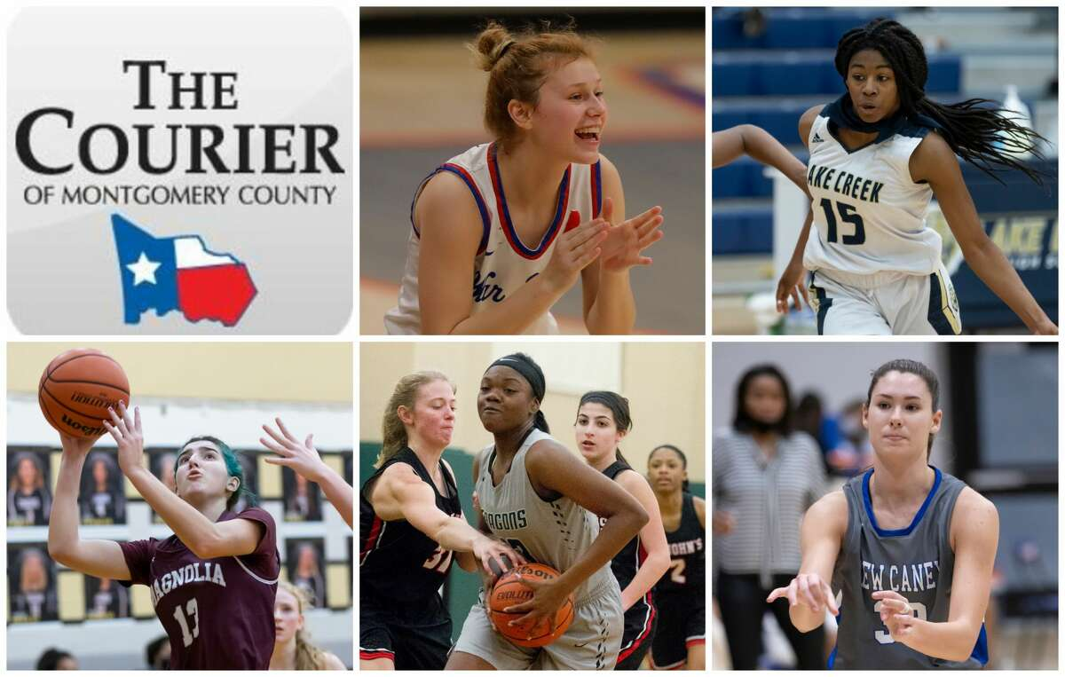 Nikki Petrakovitz, Taliyah McShan, Gabrielle Huetter, Ajailah Ogiemwonyi and Tori Garza are The Courier's nominees for Offensive MVP.