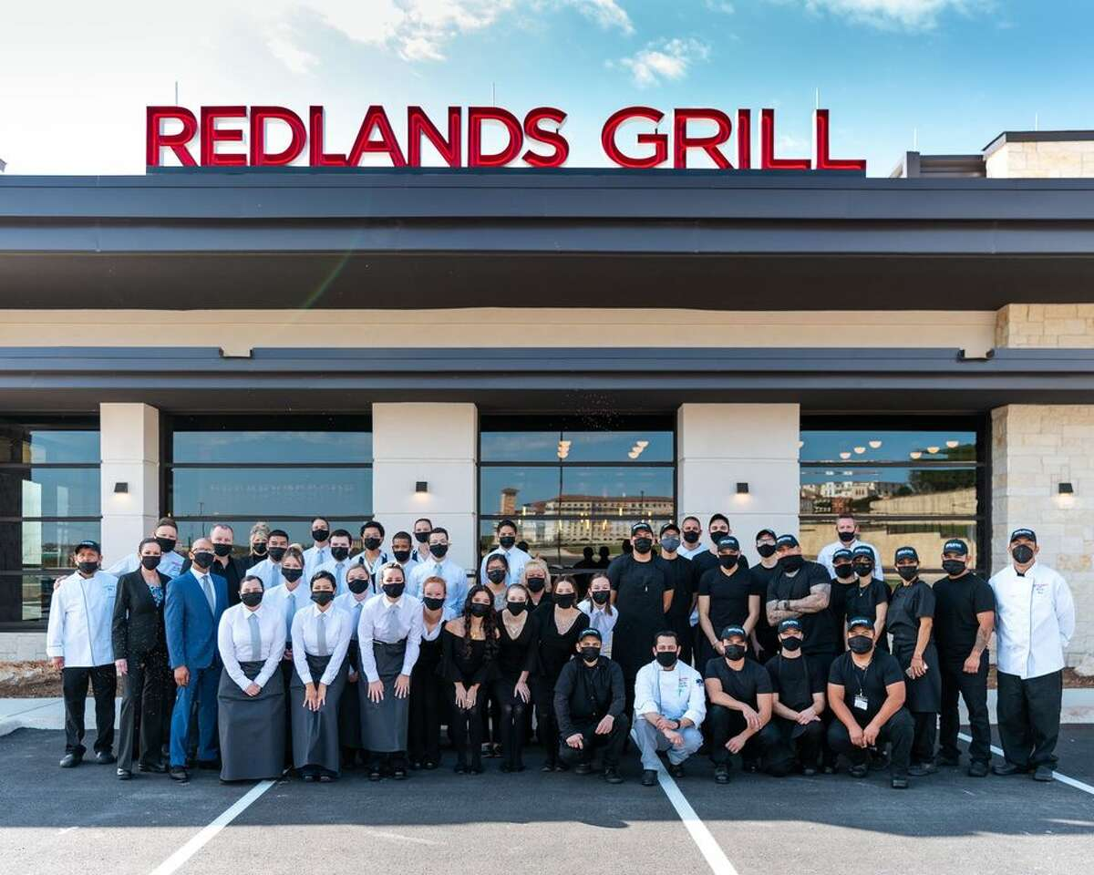 The first Redlands Grill in Texas just opened in San Antonio near The Shops at La Cantera.