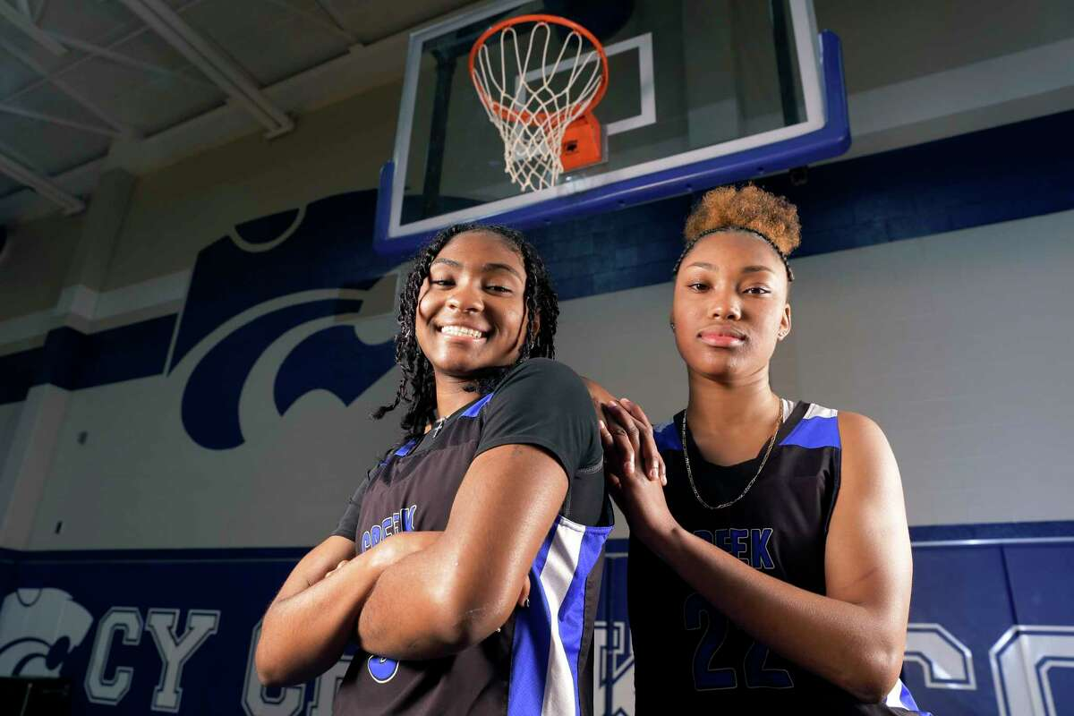 Rori Harmon, left, and Kyndall Hunter are the catalysts for three state tournament appearances in four years at Cy Creek, culminating in two state runner-up finishes.