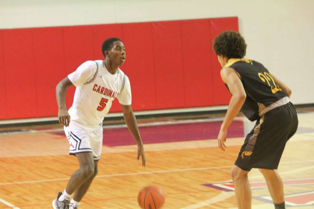 Demarcus Lee (left) had another solid season as a guard for Big Rapids. (Pioneer file photo)