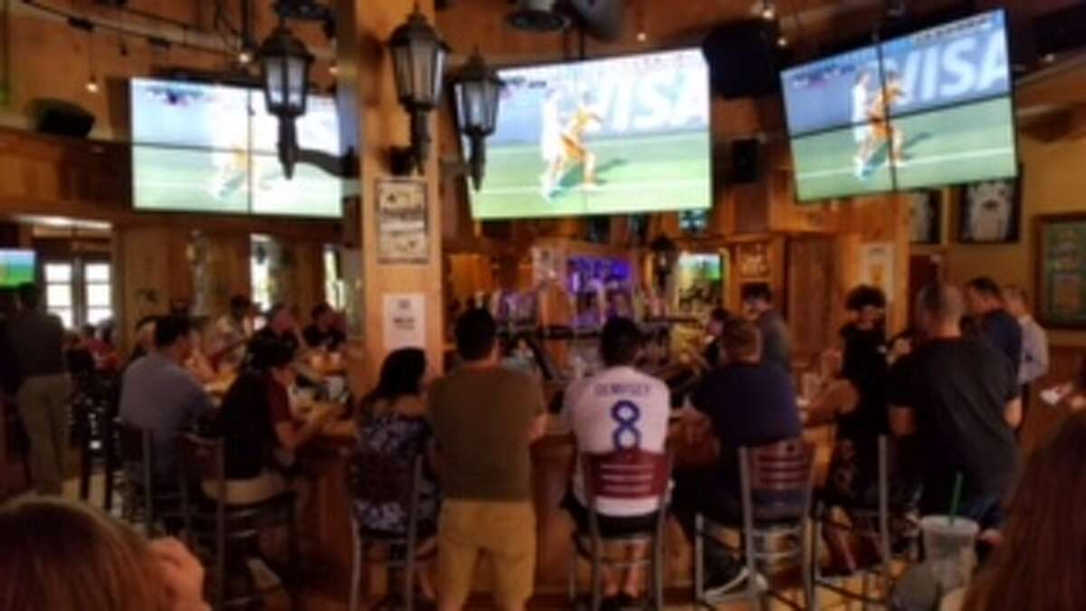 At the Lion & Rose, you'll find an almost 200-inch screen with a high-end laser projector making it a favorite among sports lovers.