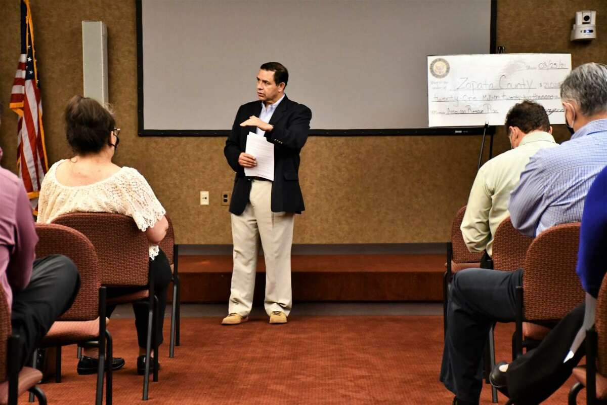 Congressman Henry Cuellar, D-Laredo, recently announced federal funds for Zapata County and Zapata County Independent School District.